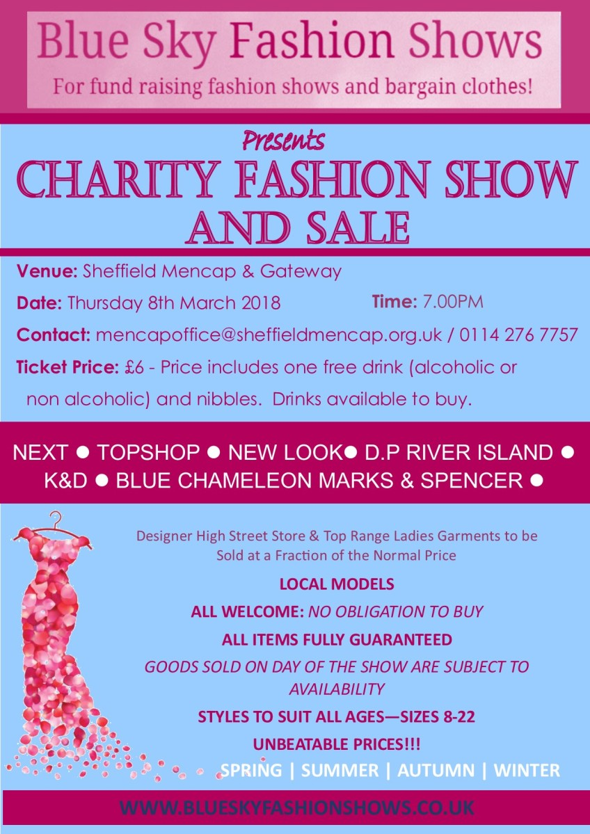 Fashion Show Thursday 8 March 2018 – LD Carers Butty Group